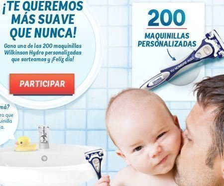 Promocion Hero Baby Wilkinson