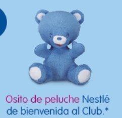 Osito gratis Nestle Bebe