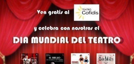 Sorteo Gratis de entradas para el teatro de Cofidis