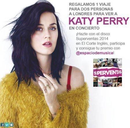 Sorteo de Katy Perry