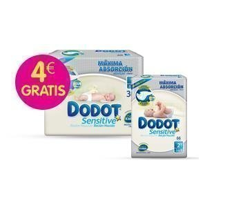 DODOT REGALOS SENSITIVE 4 EUROS GRATIS