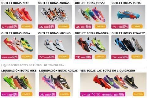 diseño de calidad 9caab 8f056 Qué precios!! súper baratas las botas de fútbol – Regalos y ...