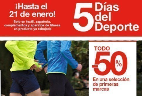 50% en una selección de ropa de marca deportiva en El Corte Inglés ... af02a19fa19