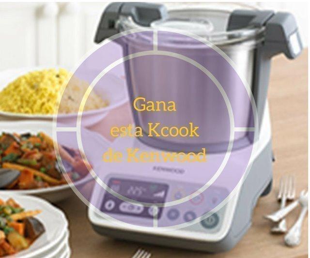 Gana un robot de cocina kenwood kcook regalos y muestras for Robot de cocina para bebes