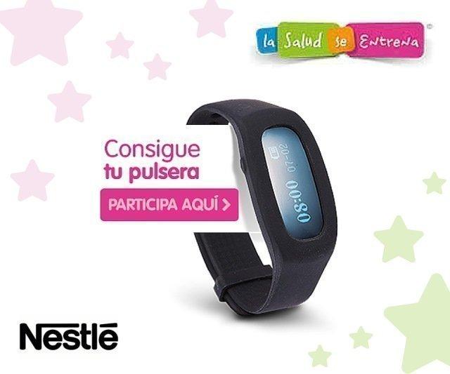 efcf925ab Obtén gratuitamente la pulsera Nestlé Trainer – Regalos y Muestras gratis