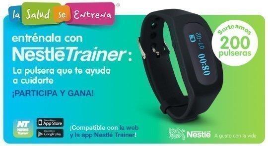 8def79f55 Obtén gratuitamente la pulsera Nestlé Trainer – Regalos y Muestras ...