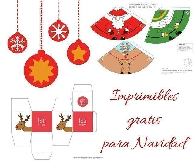 imprimibles navidad – Regalos y Muestras gratis