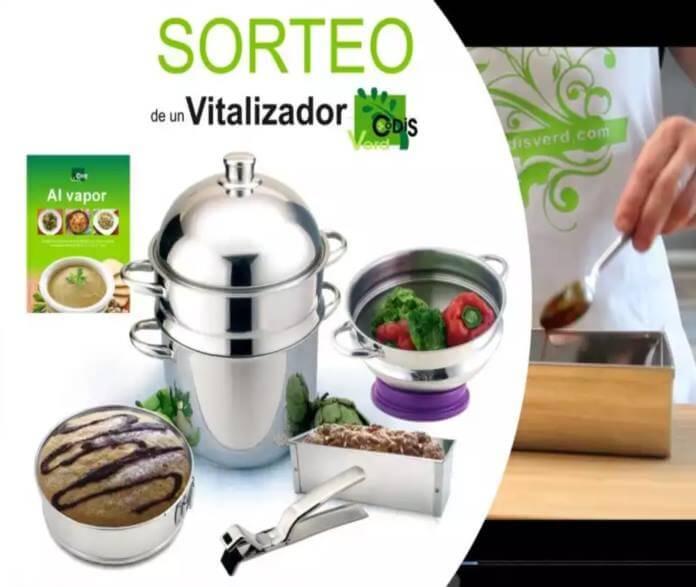Codis verd regala un vitalizador para cocinar de todo al for Recipientes para cocinar al vapor