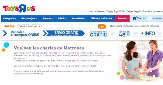 Canastilla Toysrus 2020.Nuevas Fechas Para Las Charlas Matronales De Toys R Us