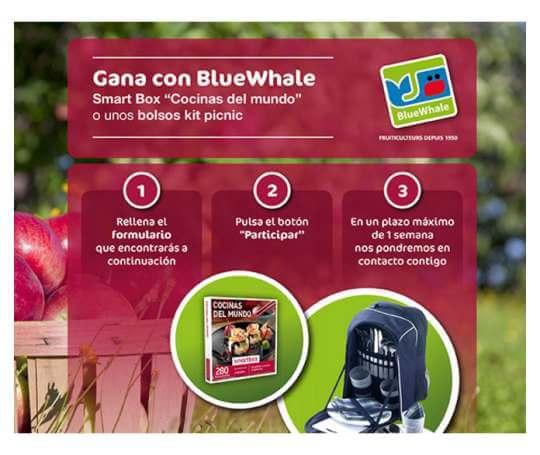 Manzanas blue whale te invita a ganar muchos premios regalos y muestras gratis - Smartbox cocinas del mundo ...