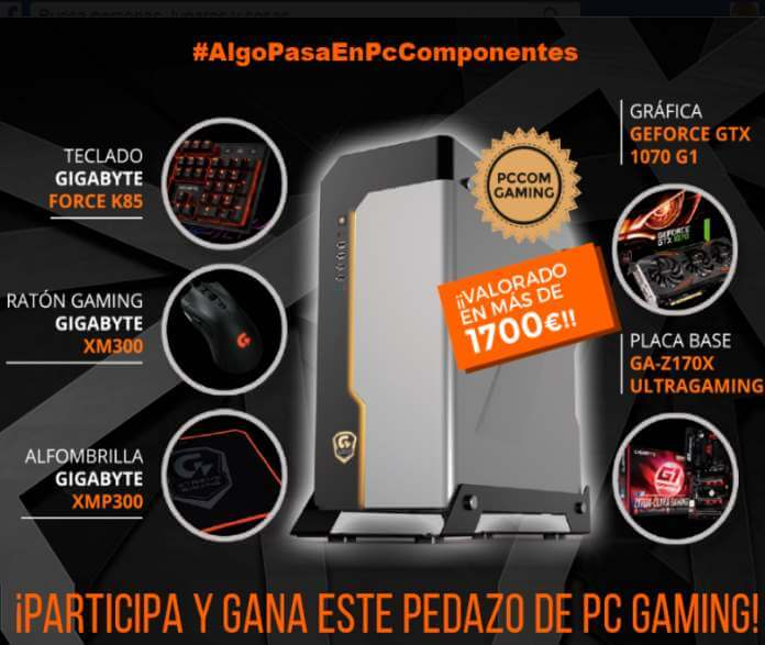 gana un pc gaming valorado en 1700 euros regalos y