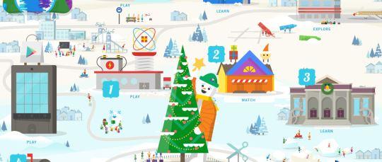 Santa Tracker El Calendario De Adviento De Google Que Nos Trae