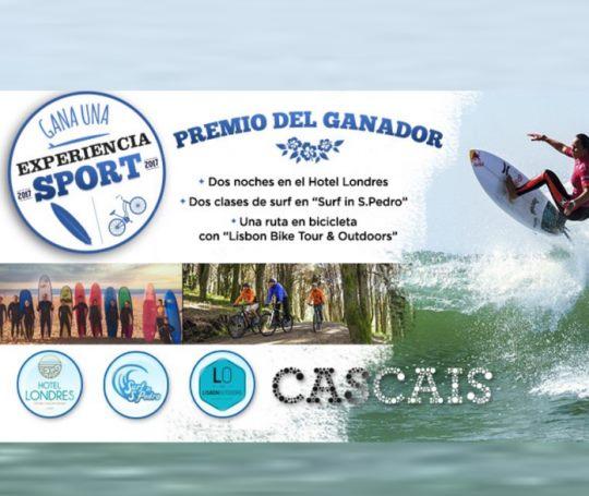 Vete de aventuras a Cascais ¡¡Y vive una experiencia sport!!