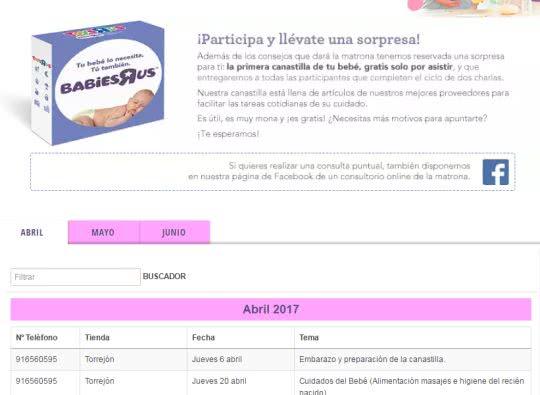 Canastilla Toysrus 2020.Consigue El Regalo Sorpresa En Las Charlas Matronales De