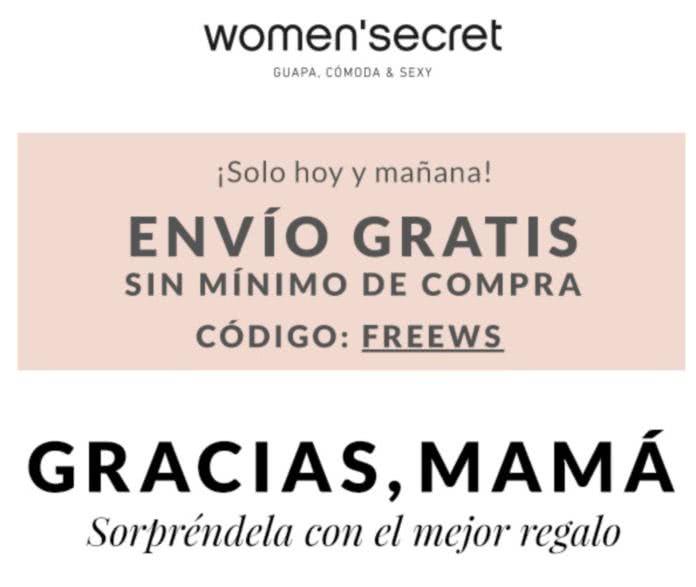 Codigo Regalo Cumpleanños Women Secret