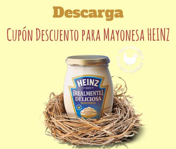 Aprovecha El Cup 243 N Para La M 225 S Deliciosa Mayonesa De Heinz