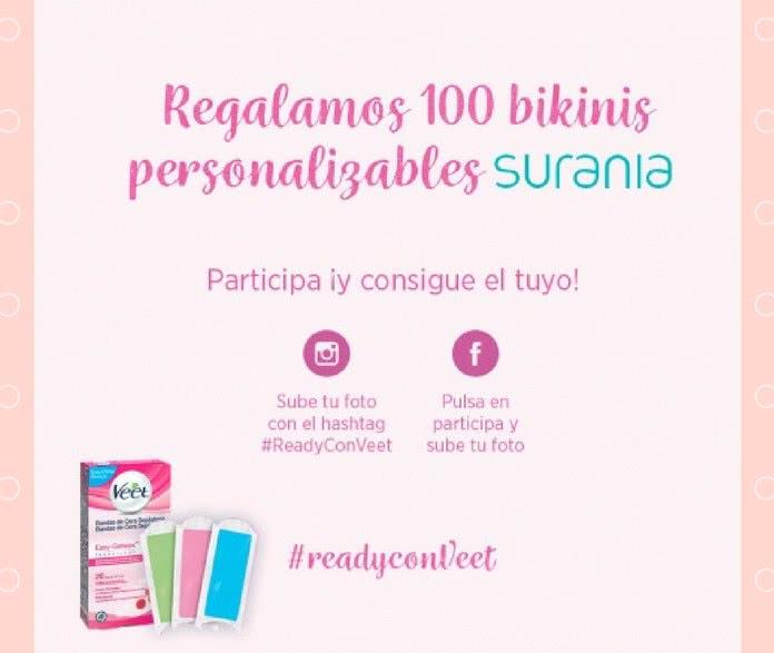De 100 Bikinis Uno Gana Veet Regala Los Que Surania Personalizables cj34ALS5qR