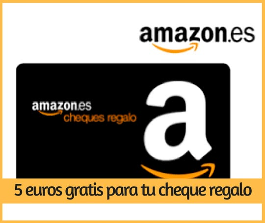 Amazon ll vate 5 para tu pr ximo pedido al comprar 25 for Codici regalo amazon gratis