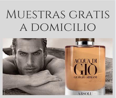 Muestras gratis de acqua di gio absolu a domicilio for Acqua lauretana a domicilio
