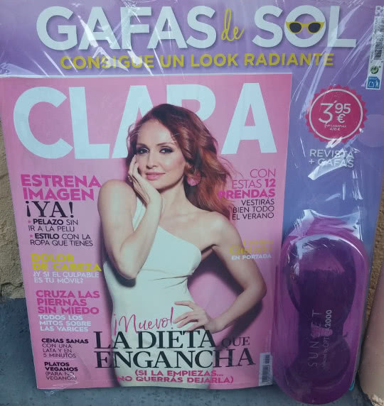 revista clara regalo julio 2018