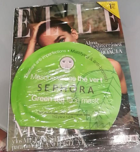 revista elle pocket regalo julio 2018