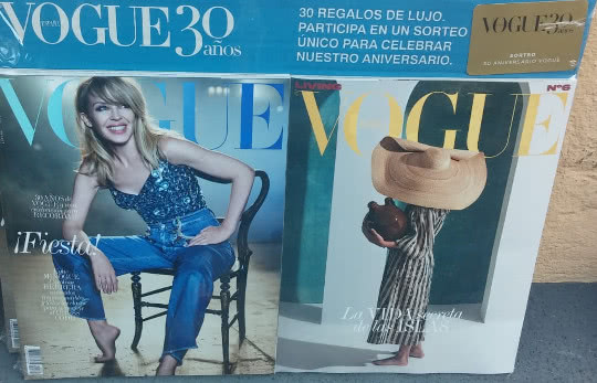 revista vogue regalo julio 2018
