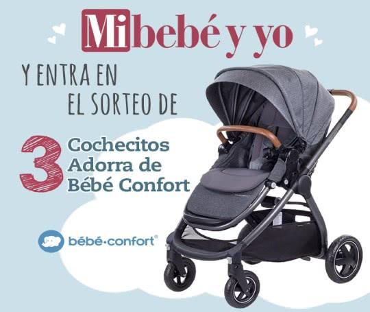 Sorteo, Concurso 3 cochecitos Adorra de Bebé Confort