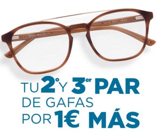 56a310fb90 Estupenda promoción de Alain Afflelou! 2 pares de gafas gratis ...