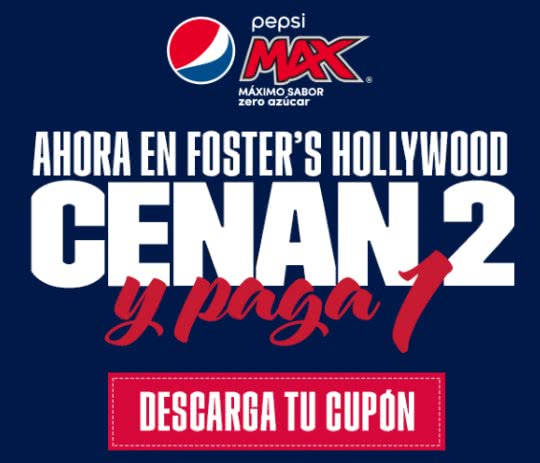 cupones descuento foster s hollywood