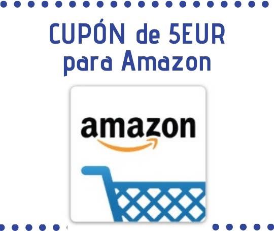 Cupon Descuento Amazon 5 Euros