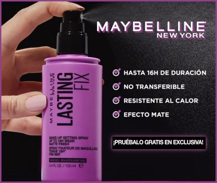 Maybelline Trendsetters 250 Testers Lasting Fix