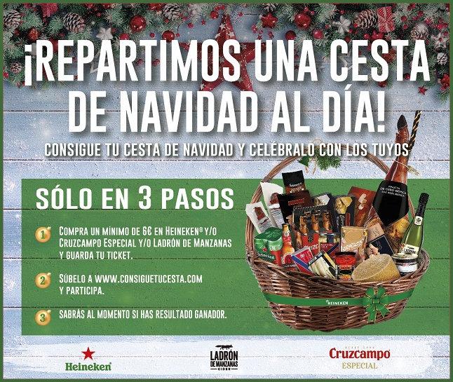 Sorteo Cestas Navidad Heineken
