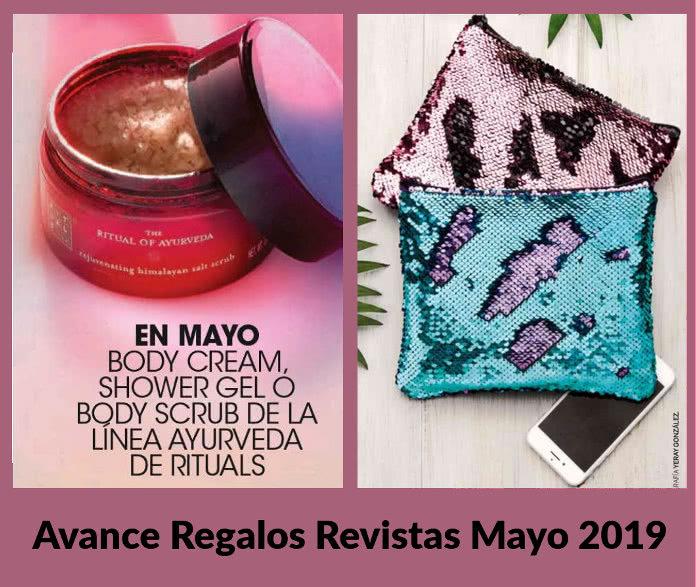 Avance regalos revistas mayo 2019