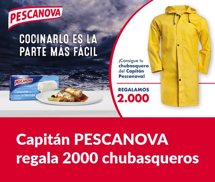 Sorteo del Capitán PESCANOVA de 2000 chubasqueros