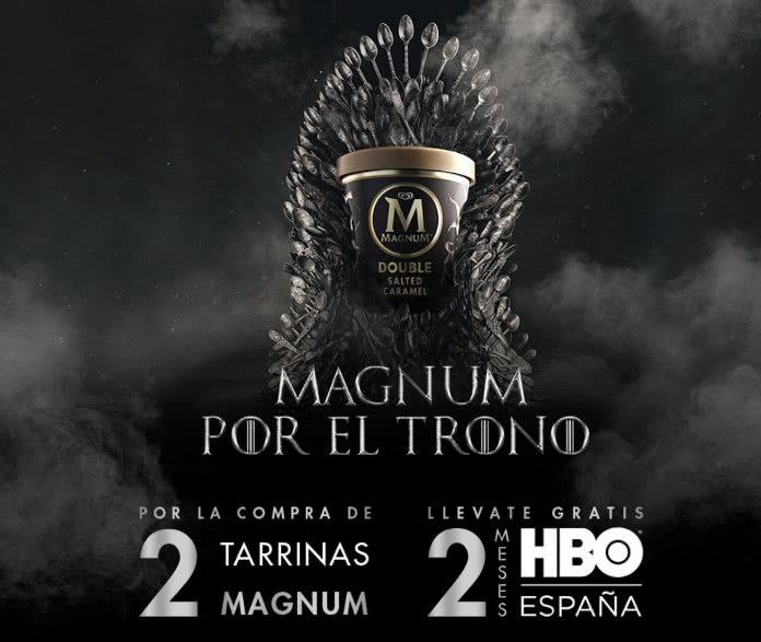 Consigue 2 meses gratis para ver HBO gracias a Magnum de FRIGO