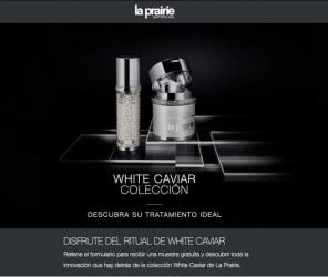 muestras gratis la prairie white caviar