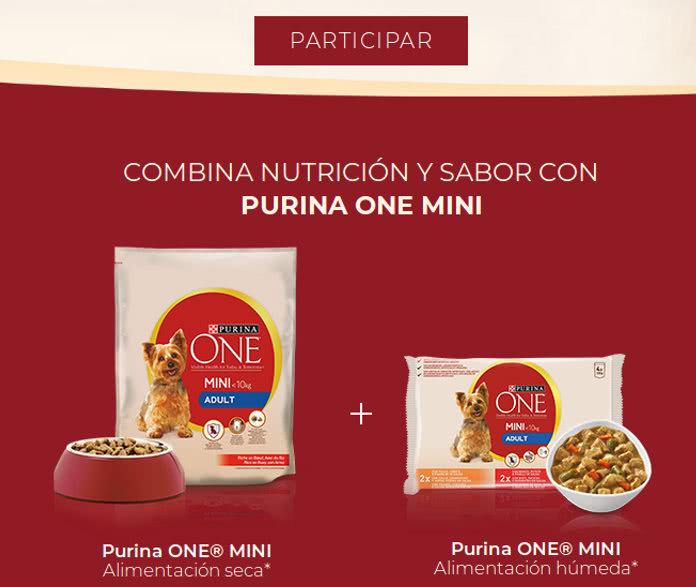 5.000 muestras gratis de PURINA ONE MINI para perros a domicilio