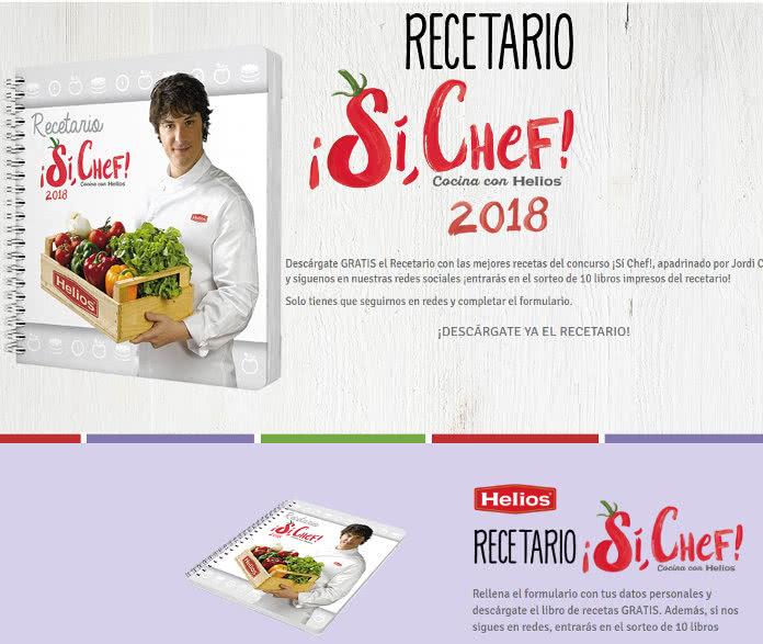 Descarga gratis el libro de recetas de Jordi Cruz con Helios Vida