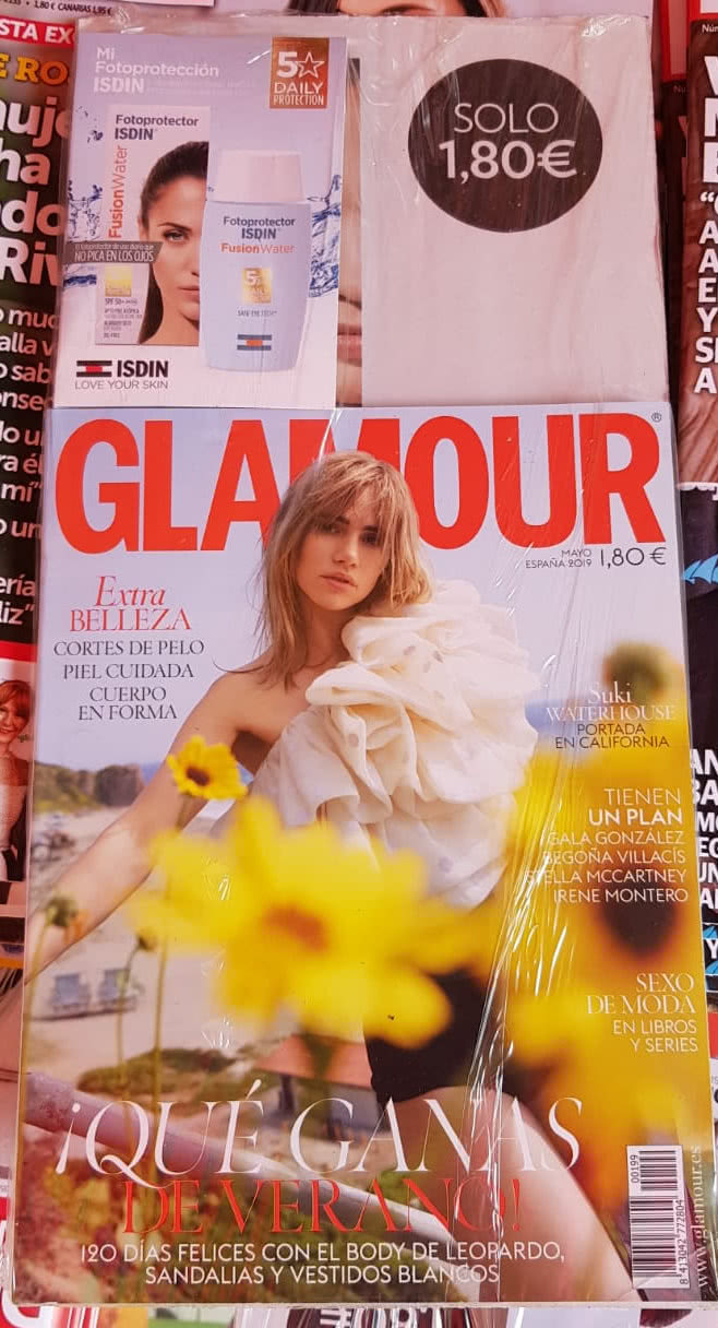 regalos-revistas-mayo-2019-glamour-pocket-isdin