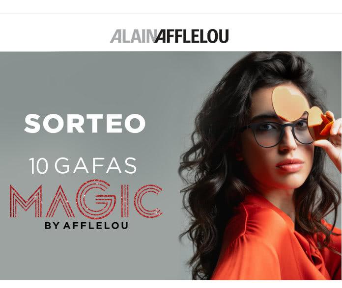 Gana una de las 10 gafas Magic by Alain Afflelou