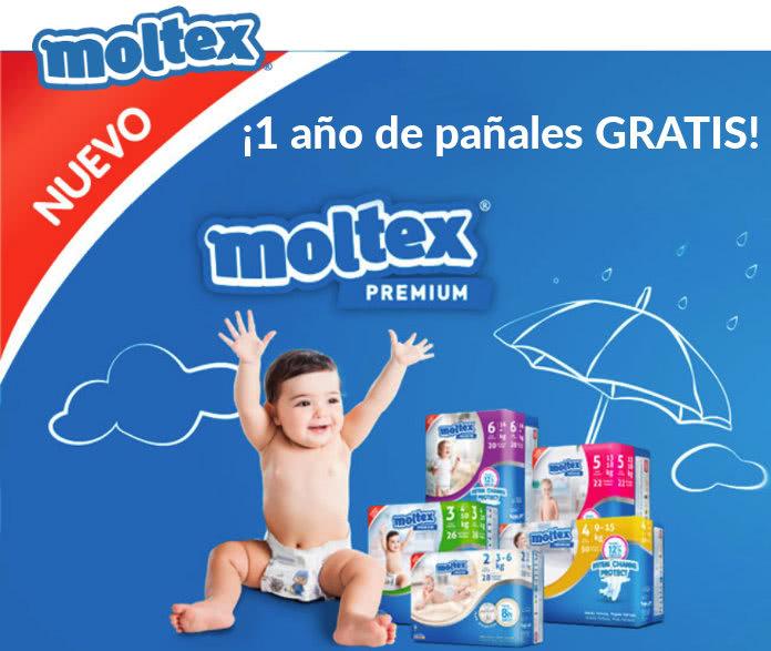 Gana un año de pañales con MOLTEX