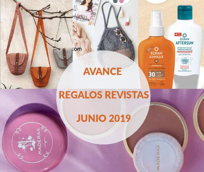 Avance regalos revistas junio 2019
