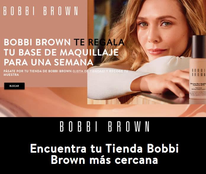 12.000 Muestras Gratis de Bobbi Brown y sesión de maquillaje de 15 minutos