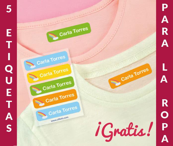 Stikets etiquetas para la ropa por 0.49 céntimos