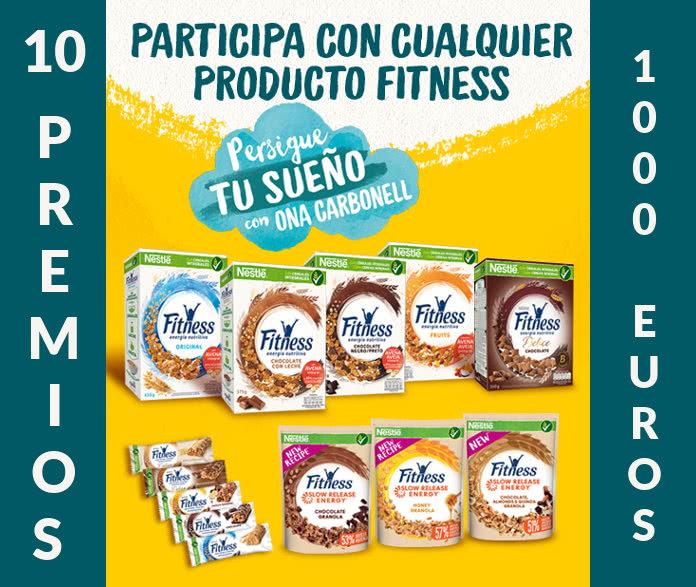 Persigue tu sueño y gana 1.000 euros con fitness-cereales y Ona Carbonell