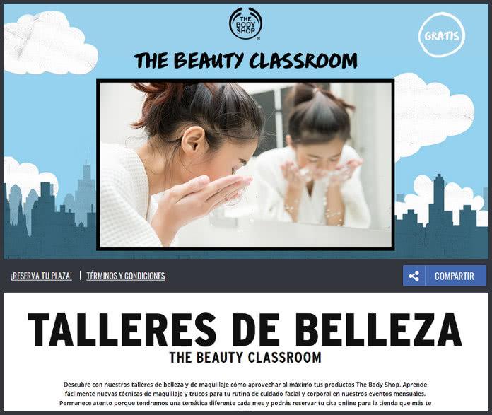 Vuelve The Beauty ClassRoom de THE BODY SHOP
