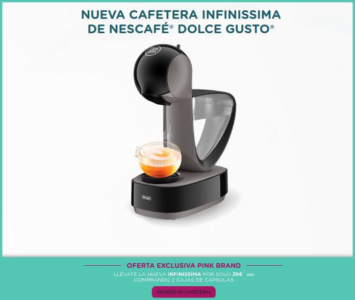 50 euros de descuento para la nueva cafetera INFINISSIMA de Dolce Gusto