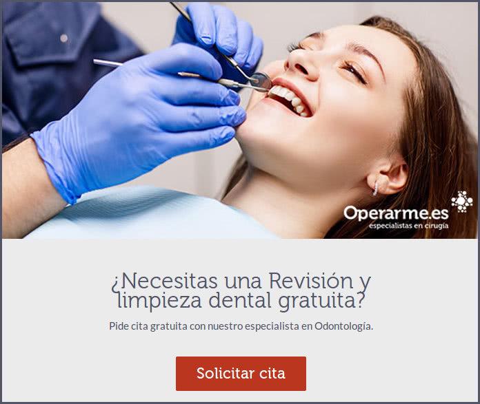 Revisión y limpieza dental gratuita, incluyendo radiografía