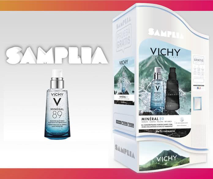 Muestras gratis de Vichy89, Liftactiv y Pureté Thermale en Samplia