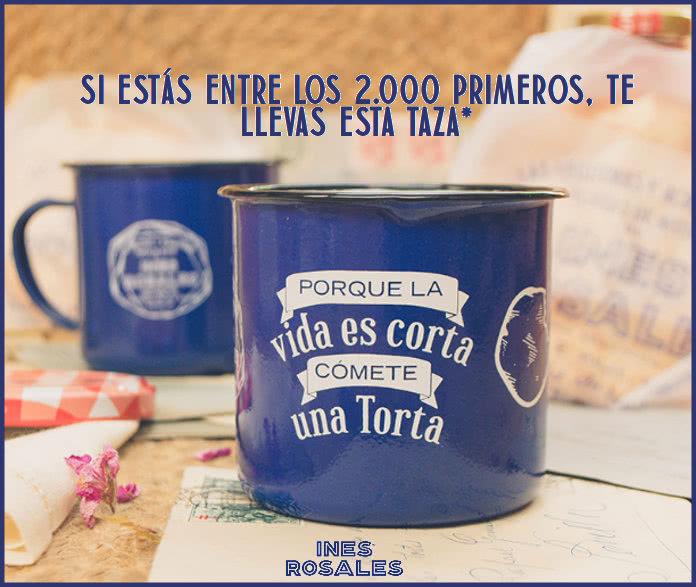 Las tortas de anís Inés Rosales regalan 2.000 tazas a los primeros en pedirlas